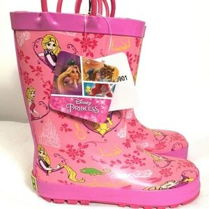 Disney Princess Children's Rain Boots Size 13/1
